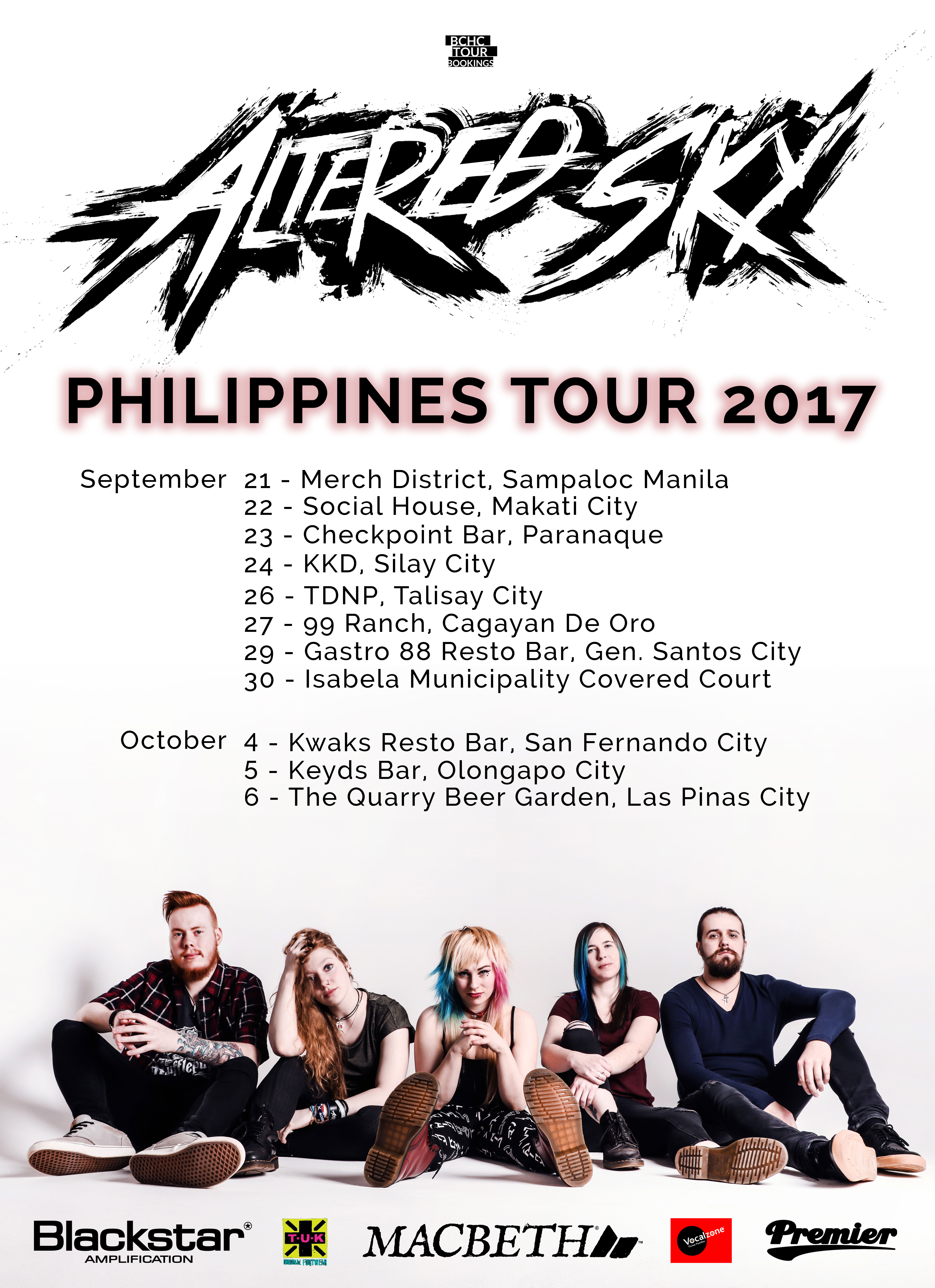 Phillipines Tour - Sept/Oct 2917