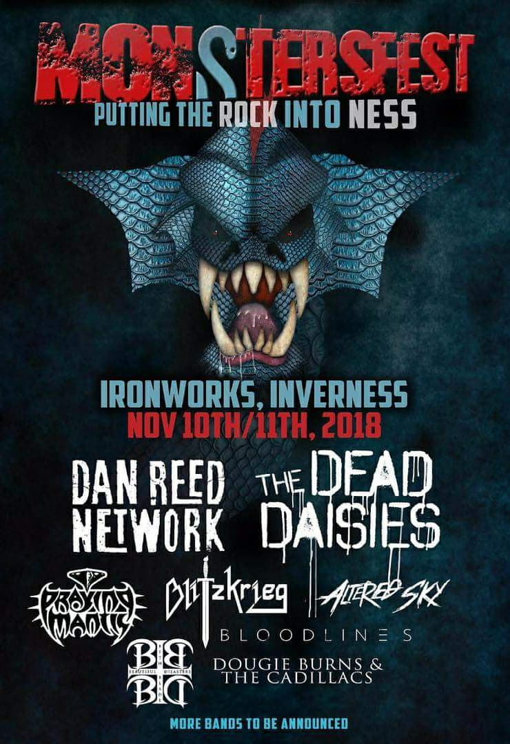 Monstersfest - Inverness - November 10th/11th 2018
